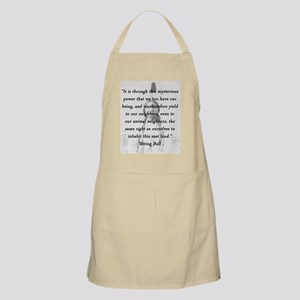 Sitting Bull - Mysterious Power Light Apron